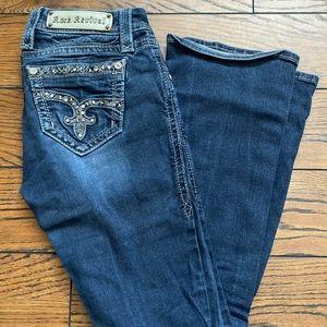Size 25 Rock Revival Jeans